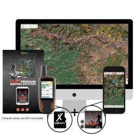 OnXmap New York Premium Hunt Map for Garmin microSD Card
