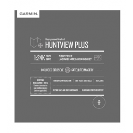 Garmin Huntview Plus Maps Virginia microSD Card