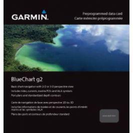Garmin Bluechart G2 English Channel, Central-East