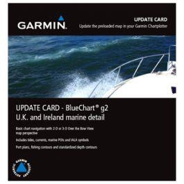Garmin UK/IRE Marine Detail Map g2 Update Card
