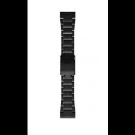 QuickFit 26 Watch Bands - Carbon Gray DLC Titanium Band